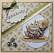Hedendaags Annekes kaartenwinkel - Voor handgemaakte wenskaarten, kaartideeën XO-63